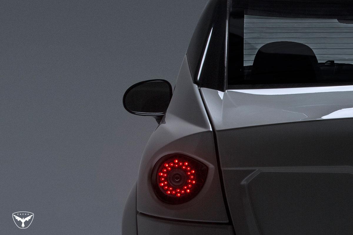 Zacua MX2 detalle luces