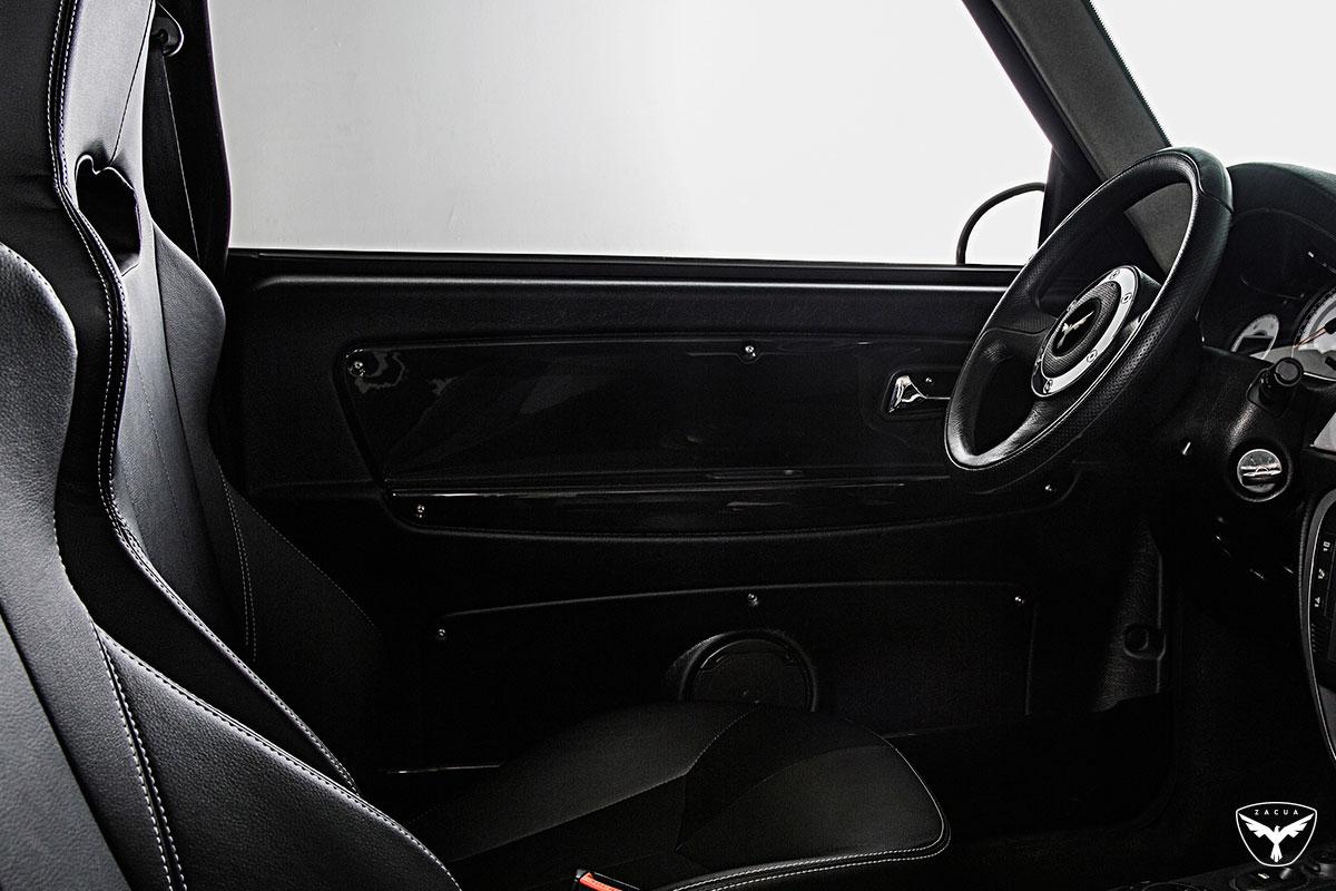 Zacua MX3 detalle asientos