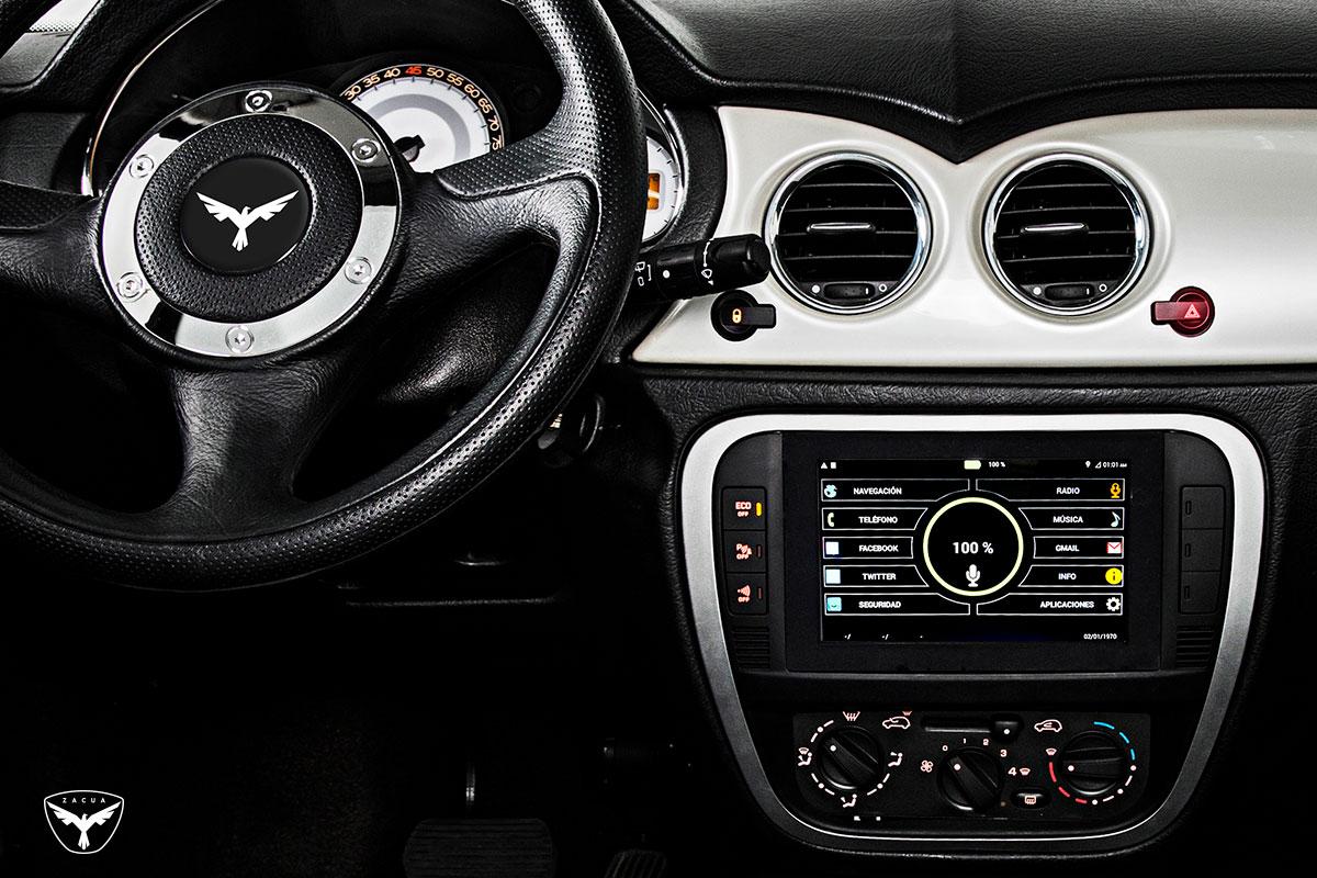 Zacua MX3 detalle volante
