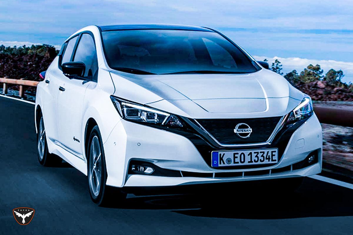 La propuesta de cero emisiones de Nissan Leaf