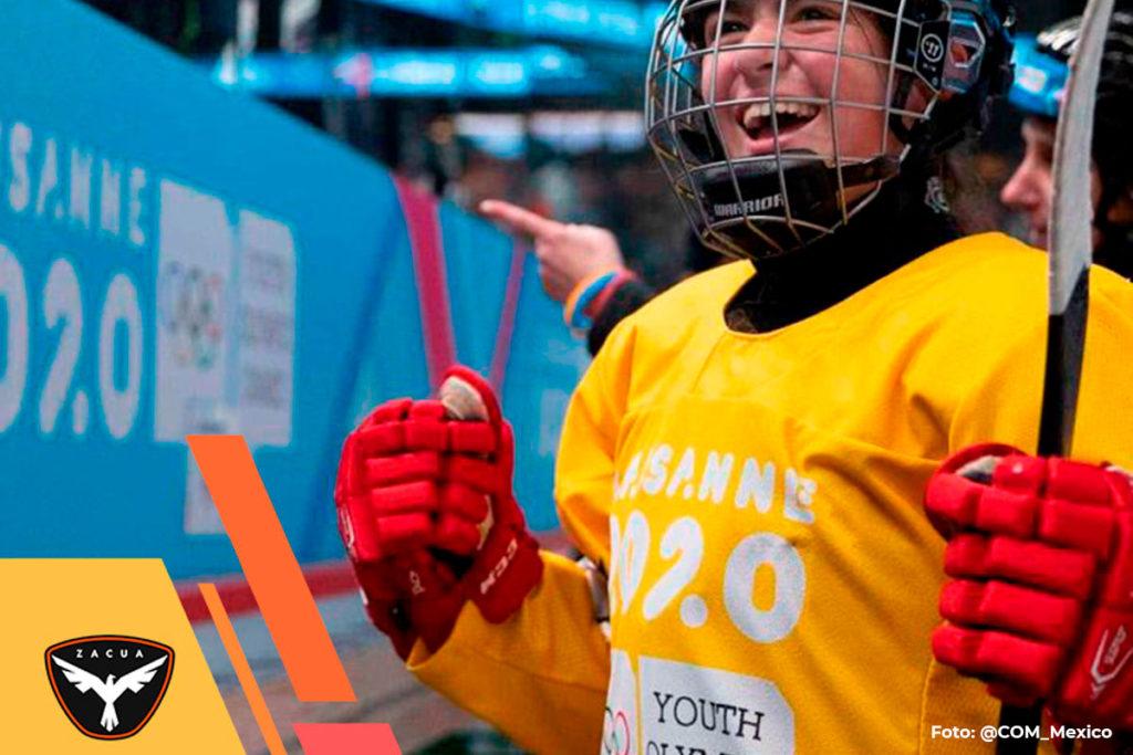 Primera medalla de oro para México en los Juegos Olímpicos de la Juventud de Invierno (JOJ).