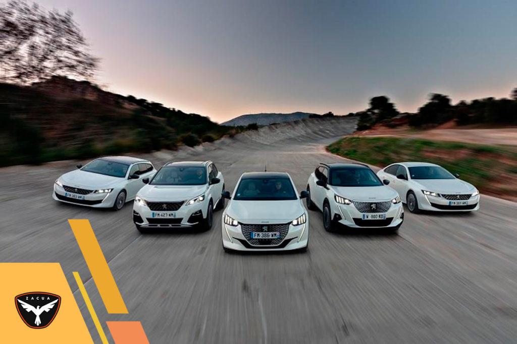 La gama eléctrica de Peugeot